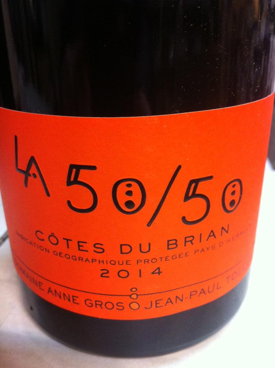 Le 50/50 Côtes de Brian 2014: