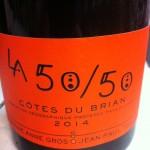 La 50/50 Cotes du Brian 2014